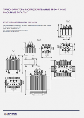 Трансформатор ТМГ 160 кВА 6(10) кВ